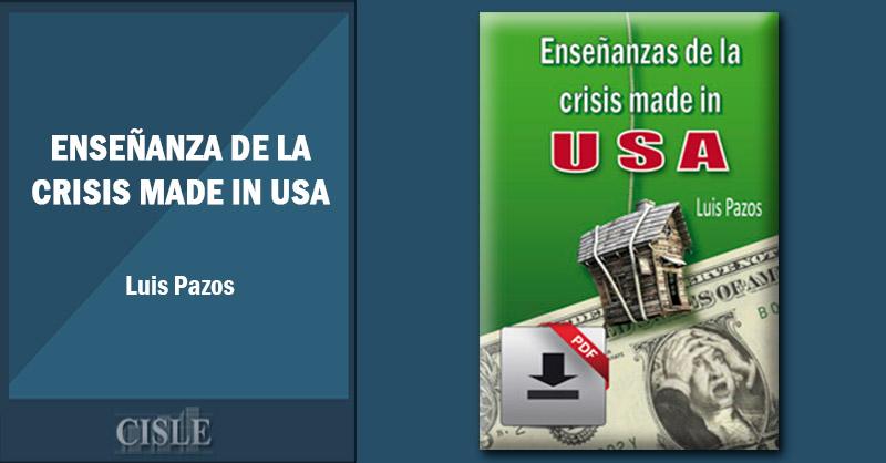 Enseñanza de la crisis made in USA