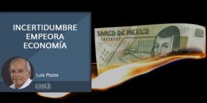 Lee más sobre el artículo Incertidumbre empeora economía