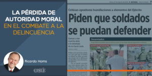 Lee más sobre el artículo La pérdida de autoridad moral en el combate a la delincuencia