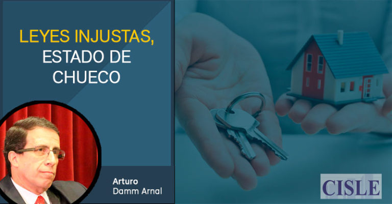 Leyes injustas, estado de chueco