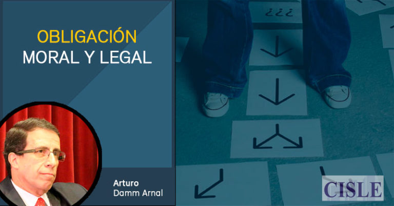 Obligación moral y legal