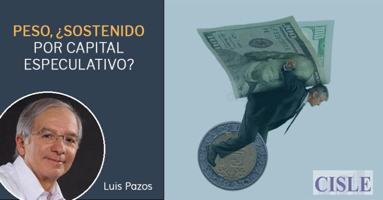 Peso, ¿sostenido por capital especulativo?