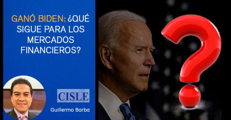 Ganó Biden: ¿qué sigue para los mercados financieros?