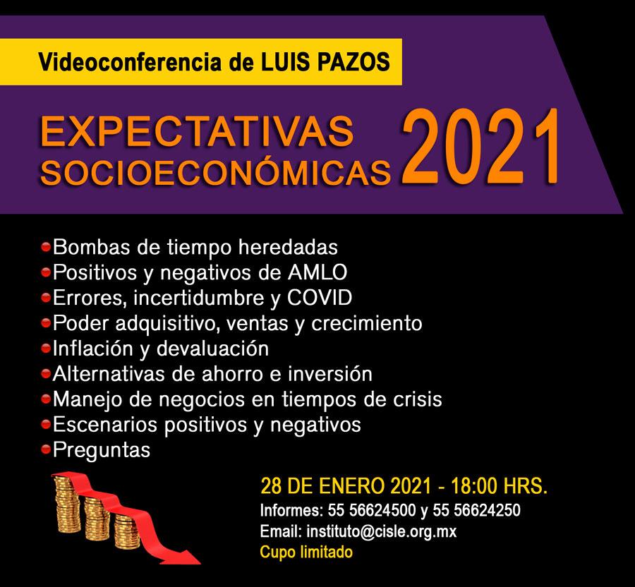Luis Pazos Expectativas socioeconomicas