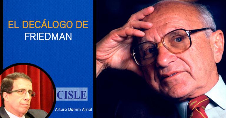 El decálogo de Friedman