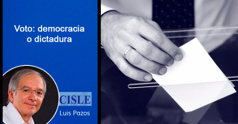 Voto: democracia o dictadura