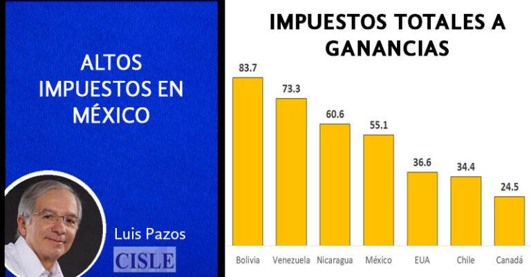 Lee más sobre el artículo Altos impuestos en México