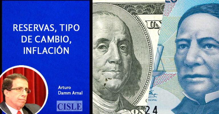Lee más sobre el artículo Reservas, tipo de cambio, inflación